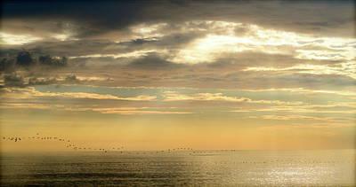 Photograph - Nags Head, Nc Sunrise by Teresa Tilley