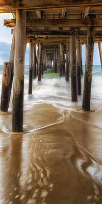 Outerbanks Photograph - Nags Head Pier by Jay Wickens