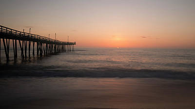 Photograph - Nags Head Sunrise by Jack Nevitt