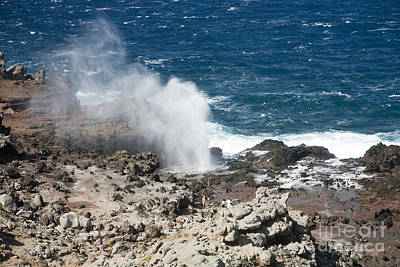 Nakalele Blow Hole Photograph - Nakalele Point by Peter French - Printscapes