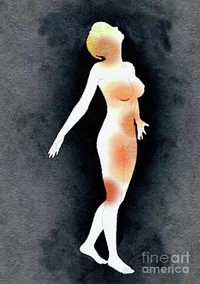 Bdsm Bondage Painting - Naked Before God by Mary Bassett