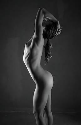 Naked Art Print