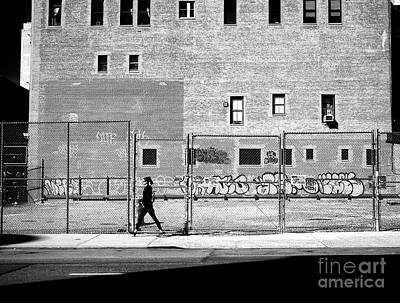 Photograph - Naked City Walk by John Rizzuto