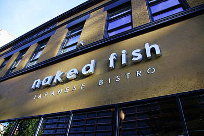 Photograph - Naked Fish by Ely Arsha