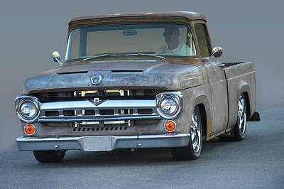 Photograph - Naked Ford Pickup by Bill Dutting