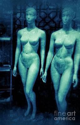 Photograph - Naked Frozen by Joan-Violet Stretch