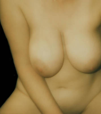 Digital Art - Voluptuous Nude  by James Barnes