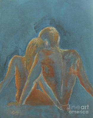 Painting - Naked Soul by Jane See