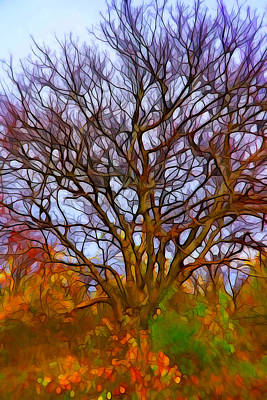 Impressionism Painting - Naked Tree by Lilia D
