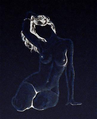 Digital Art - Naked Woman 4 by Anton Kalinichev