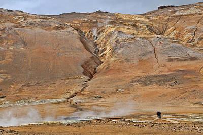 Photograph - Namafjall # 1 by Allen Beatty