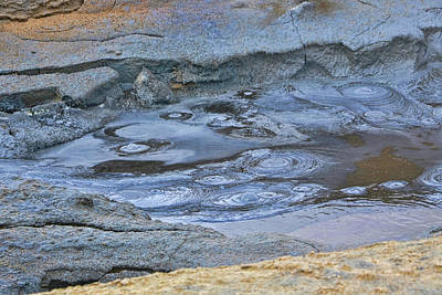Photograph - Namafjall # 3 by Allen Beatty