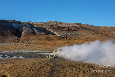 Photograph - Namafjall Geothermal by Chris Thaxter