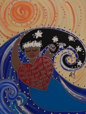 Painting - Namaka by Angela Yarber