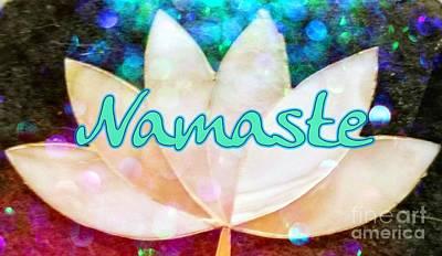 Photograph - Namaste 2 by Rachel Hannah