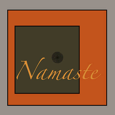 Digital Art - Namaste by Kandy Hurley