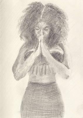 Namaste Art Print by Robert Alexander