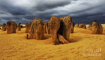 Photograph - Nambung Desert Australia 3 by Bob Christopher