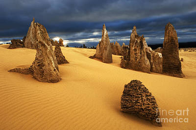 Photograph - Nambung Desert Australia 4 by Bob Christopher