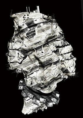 Digital Art - Nameless Island by Haruo Obana