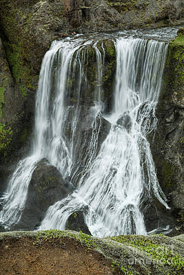 Photograph - Nameless Waterfall II by Stuart Gordon