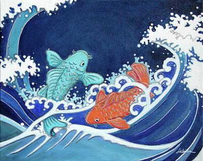 Painting - Nami by Sabina Espinet