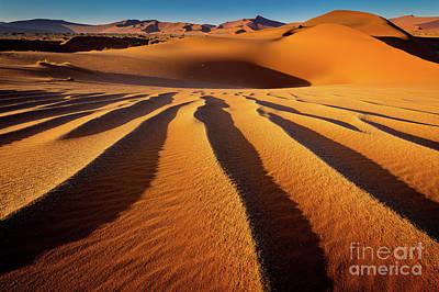 Sossusvlei Photograph - Namib Black Hole by Inge Johnsson