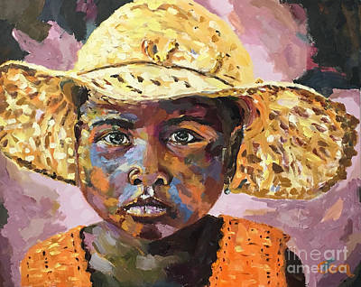 Madagascar Farm Girl Art Print
