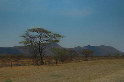 Digital Art - Namibia Landscape by Ernie Echols