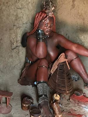 Photograph - Namibia Tribe 1 by Robert SORENSEN
