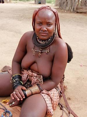 Painting - Namibia Tribe 10 by Robert SORENSEN