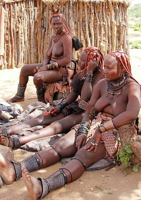 Painting - Namibia Tribe 12 by Robert SORENSEN