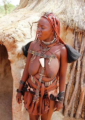 Painting - Namibia Tribe 4 by Robert SORENSEN