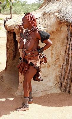 Painting - Namibia Tribe 6 by Robert SORENSEN