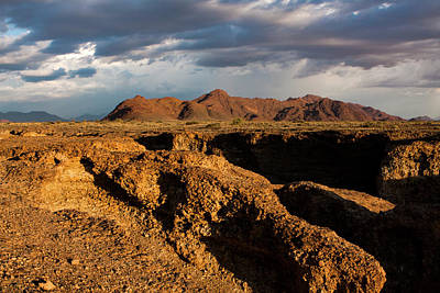 Photograph - Namibian Desert Landscape by Aidan Moran