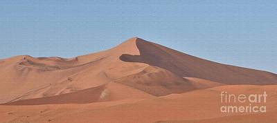Photograph - Namibian Dunes, The Tallest In The World by Tom Wurl
