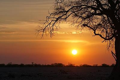 Photograph - Namibian Sunset by Ernie Echols