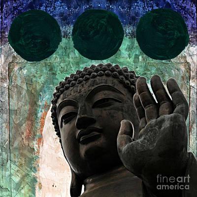 Painting - Namo Buddhaya by Lita Kelley