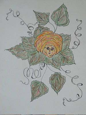 Drawing - Nana Rose Is Here by Sharyn Winters
