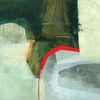 Collage Painting - Nanaimo #1 by Jane Davies