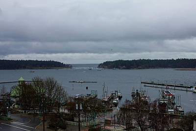 Photograph - Nanaimo Inner Harbour by Donna L Munro