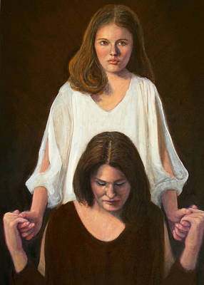 Painting - Nancy And Abby by Donelli  DiMaria