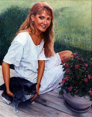 Painting - Nancy And Tiffany by Suzanne Berry