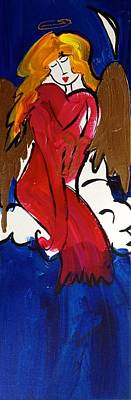 Painting - Nancy Angel by Richard Sean Manning