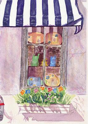 Nancy's Charleston Window Art Print