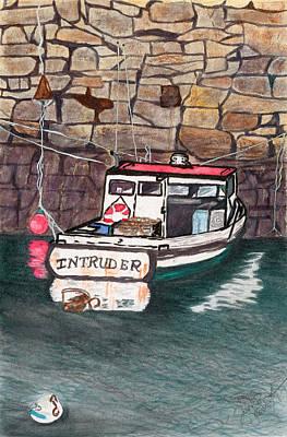 Nancy's Dirty Boat Art Print