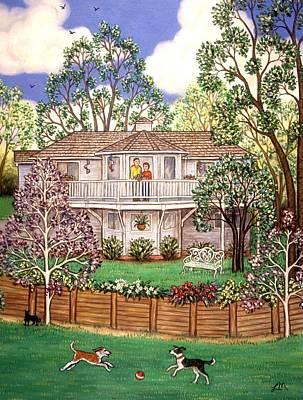Nancy's House Art Print by Linda Mears