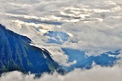 Photograph - Nandi Devi Mountain 2 - Himalayas by Kim Bemis