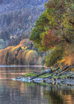 Photograph - Nanoose Morning 2 by Randy Hall