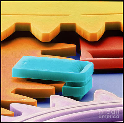 Photograph - Nanotechnology by Volker Steger